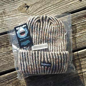 Supreme Rainbow Knit hat